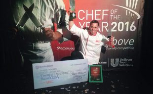 Henrico Grobbelaar wins Unilever Food Solutions Senior Chef of the Year 2016