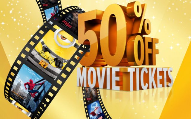 50% off movies@ Emnotweni