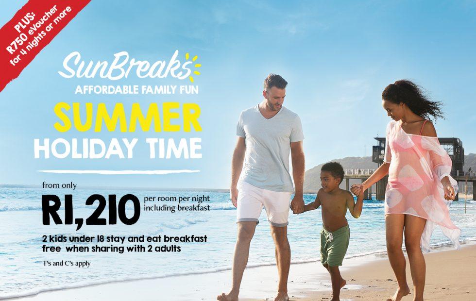 BOOK YOUR SUMMER HOLIDAY FROM R1,210 PER ROOM PER NIGHT