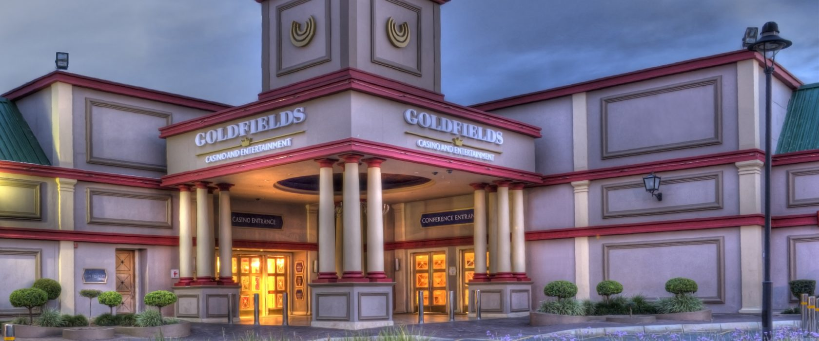 Goldfields Casino Exterior In The Evening