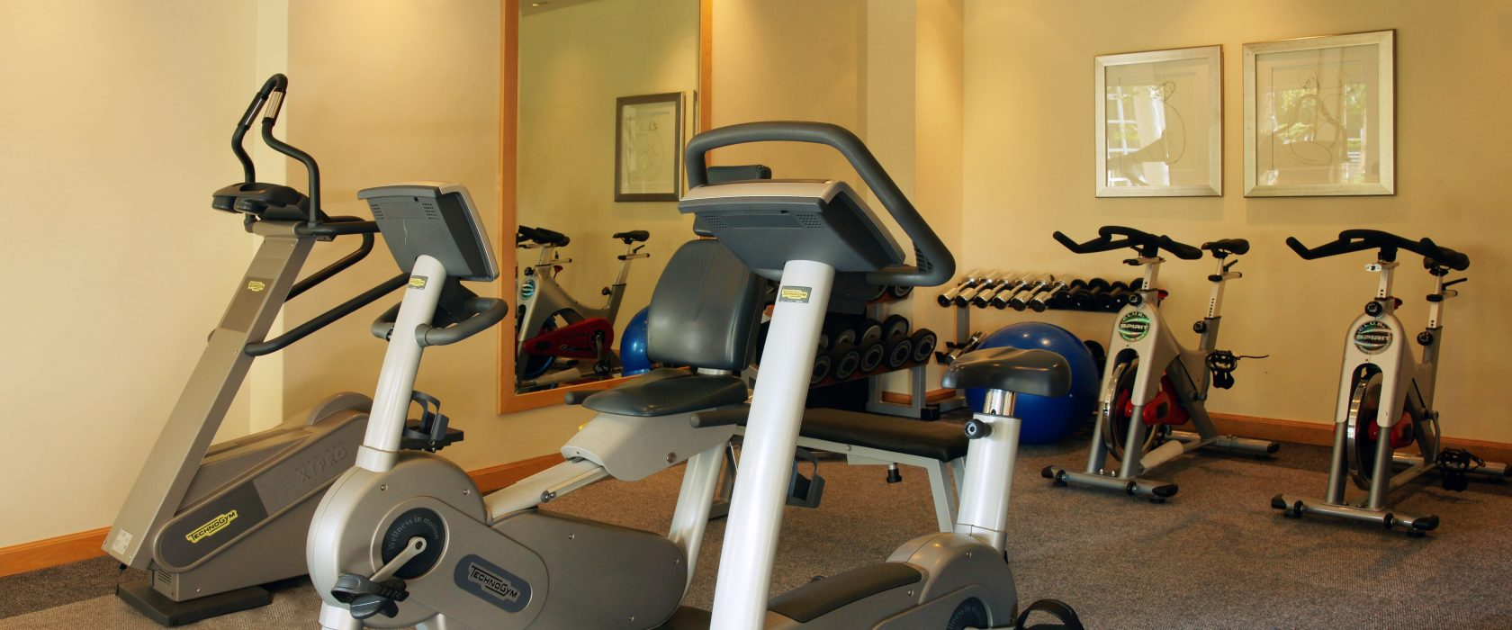 Keep in shape at the fitness centre