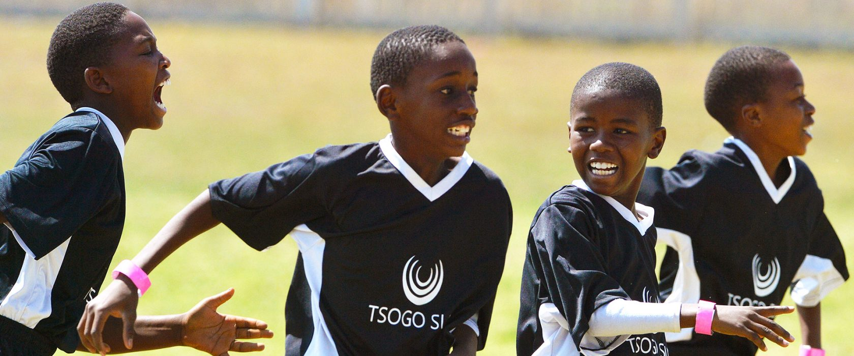 Kids Playing Soccer at Tsogo Sun Sports Academy