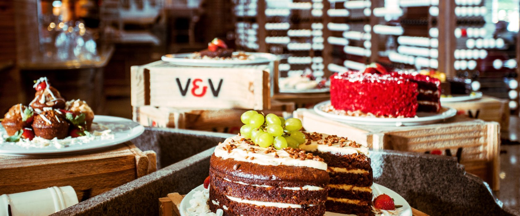 Vigor & Verve Cake selection