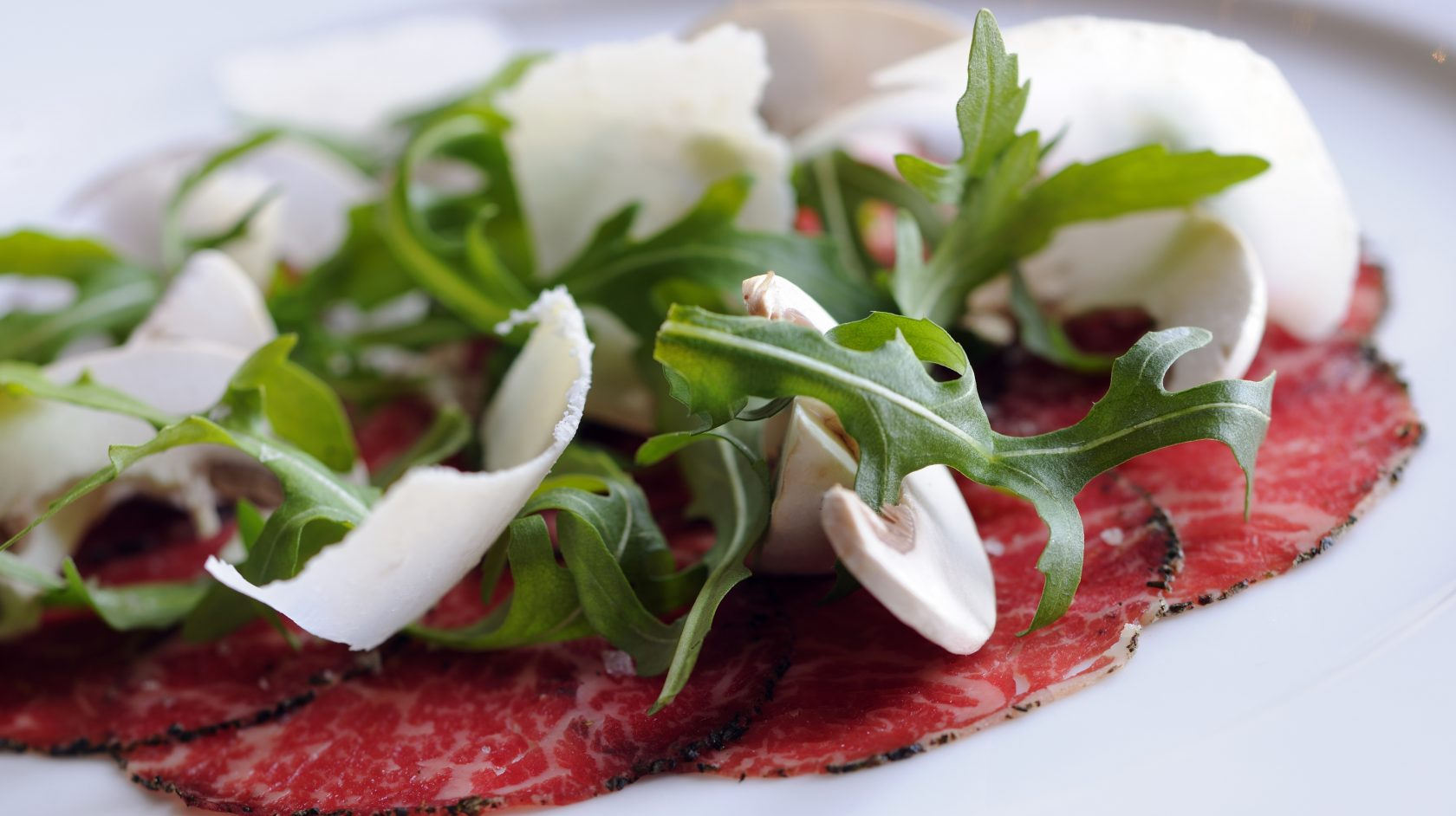 Beef Carpaccio Served At The Foundry Restaurant