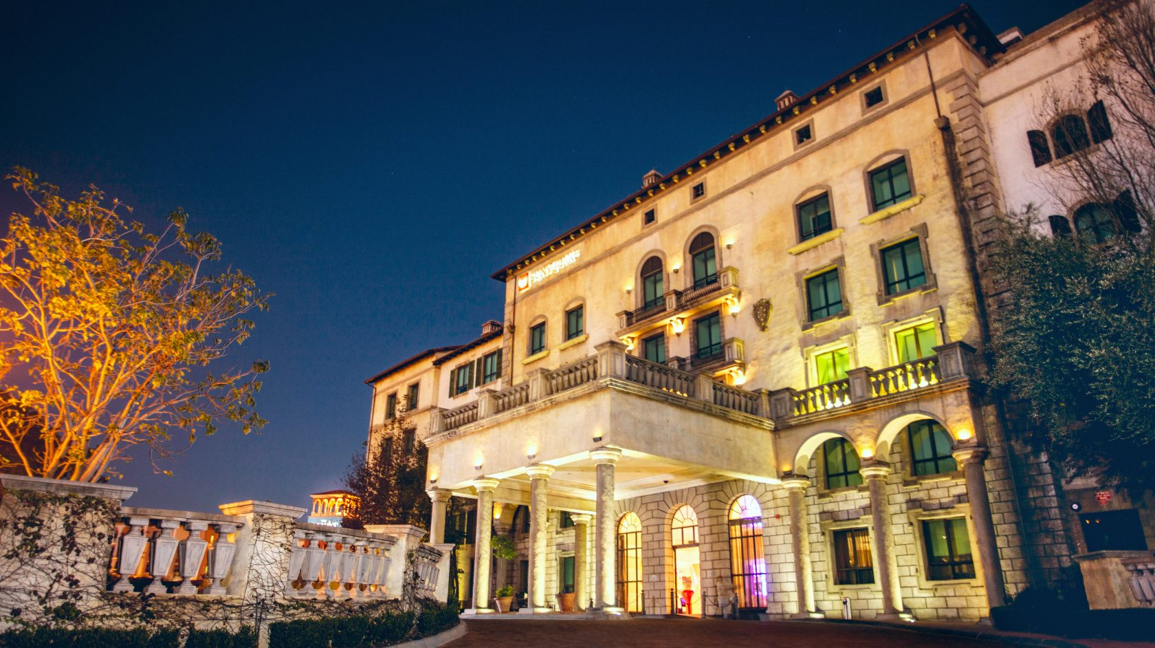 SunSquare Montecasino Hotel exterior and entrance