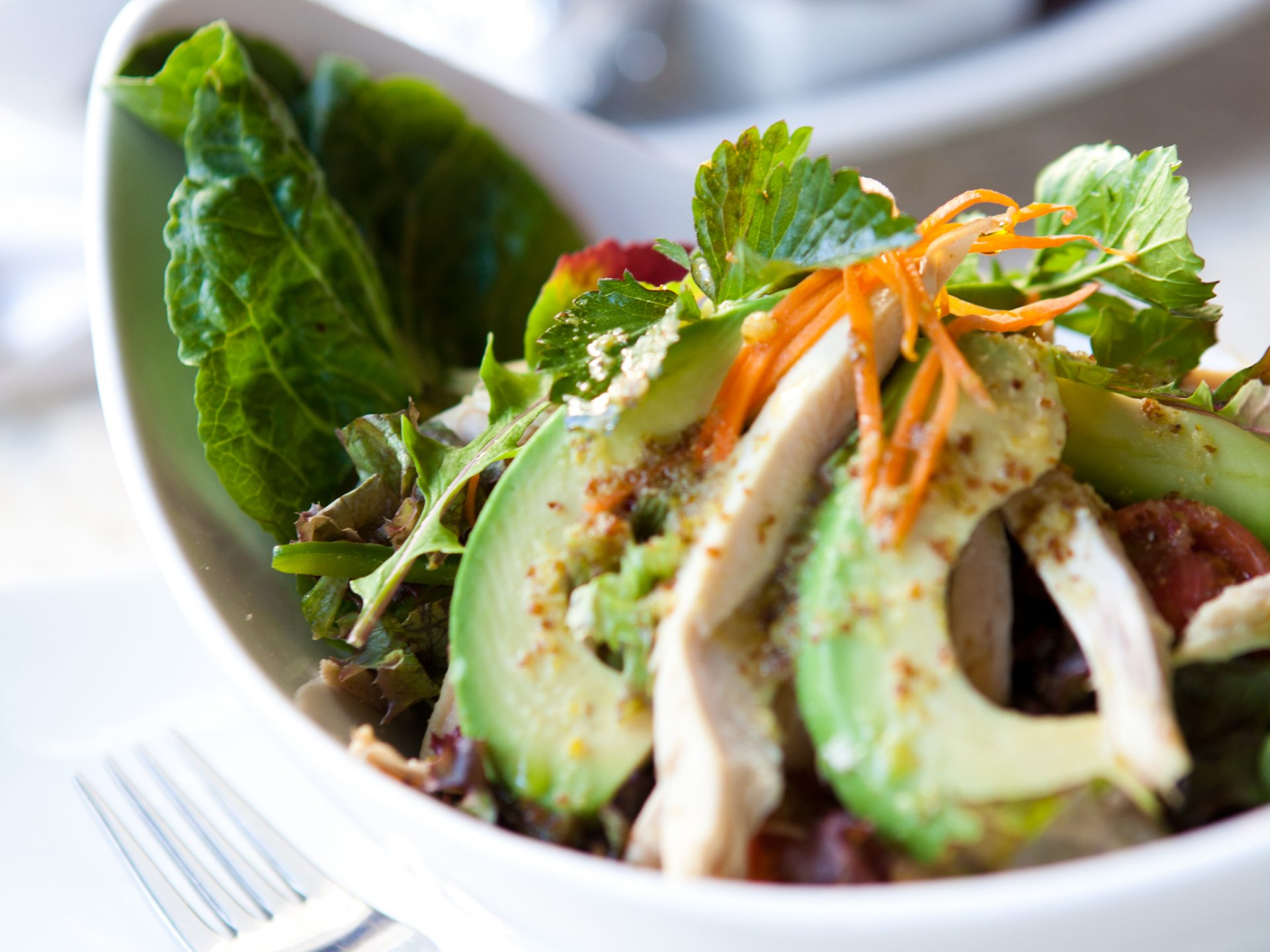 Chicken And Avo Salad