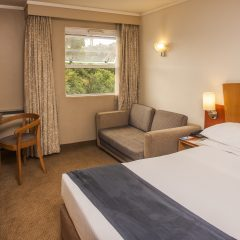 Bedroom at the StayEasy Pretoria Hotel