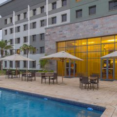 StayEasy Lusaka hotel pool and Exterior