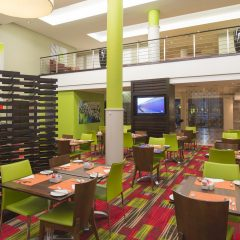 A view of the StayEasy Lusaka hotel restaurant