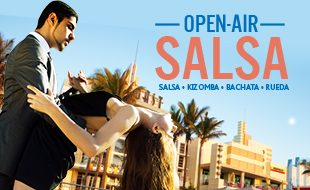 Open Air Salsa Banner