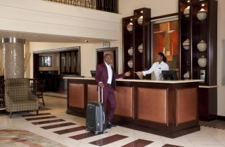 StayEasy Emalahleni hotel Reception area