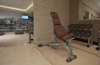 Gym equipment at Southern Sun O.R. Tambo hotel
