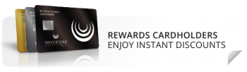 Rewards Cardholders enjoy instant discounts