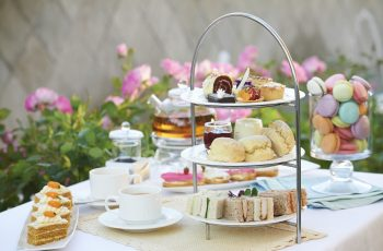 A Selection Of Delicacies For High Tea