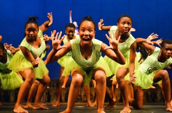Girls On Stage At Tsogo Sun Arts Academy