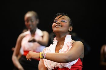 Girl Acting On Stage At Tsogo Sun Arts Academy