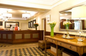Receptionist at Southern Sun Mayfair Nairobi Reception