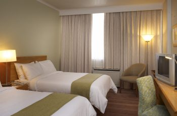 Double double room at the Garden Court Kimberley