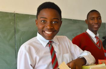 Teenagers At School Benefiting From Tsogo Sun Learnerships