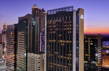 Exterior View Of Southern Sun Abu Dhabi At Dusk