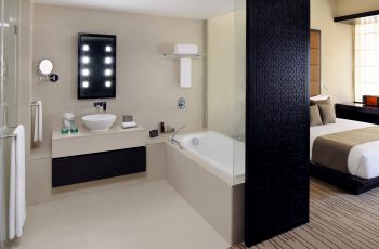 An Executive Room Showing The Bath And Shower Facilities