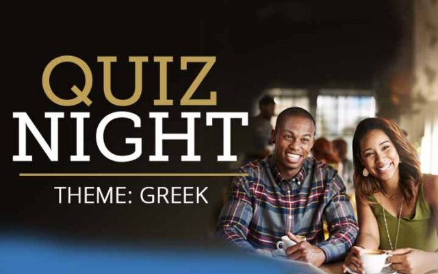 Greek Quiz Night