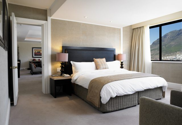 Presidential Suite Bedroom With View Of Mountain