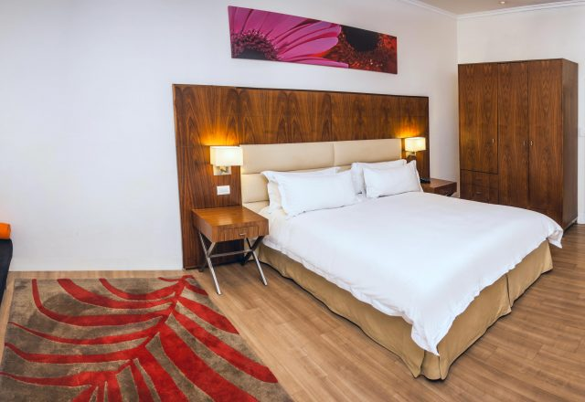 Gold Reef City hotel room with seating area