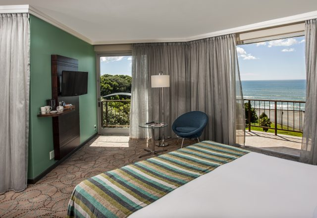A sea view from a standard room