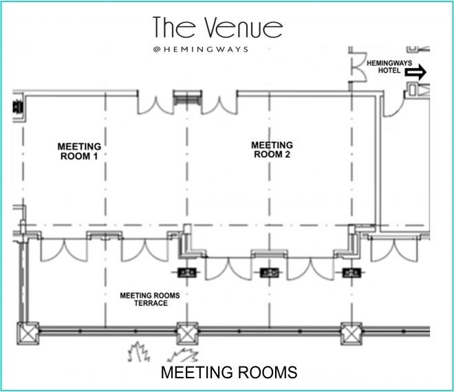The Venue Meeting Rooms Floor Plans sketch