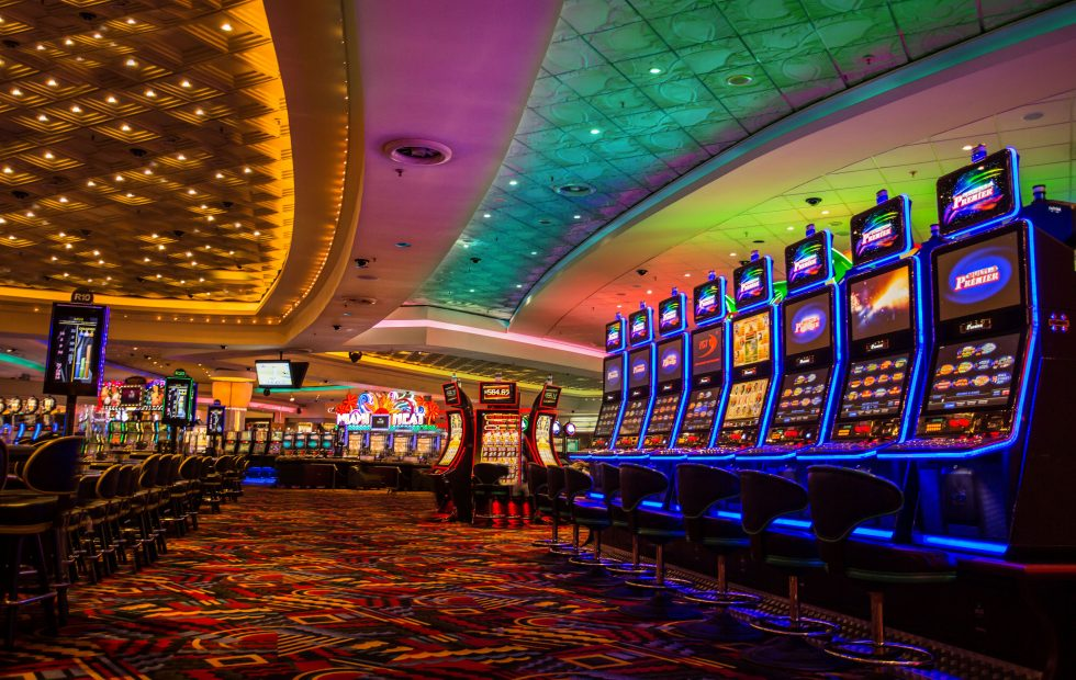 Earn points for play on the Casino Floor!