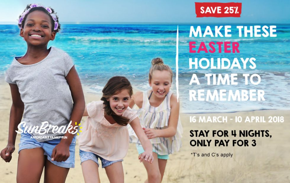 Extend your Easter holidays with SunBreaks
