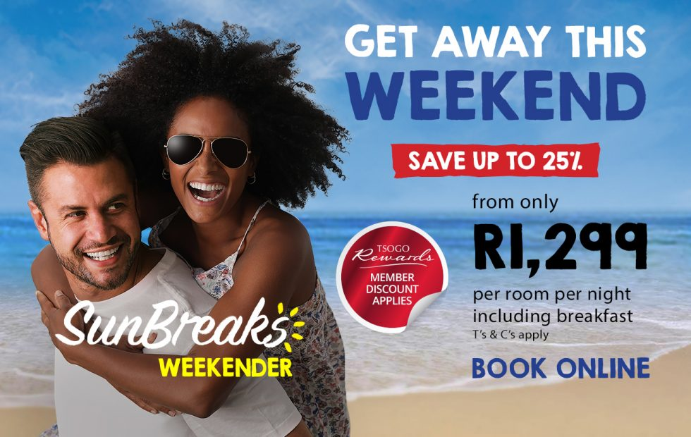 Escape to the Cape this weekend from R1,299