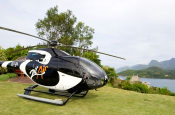 Maia Luxury Resort and Spa - Helipad