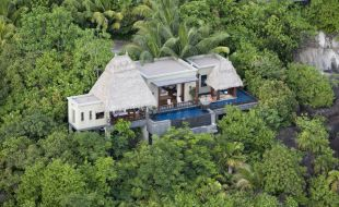 Aerial View Of A Ocean Panoramic Villa