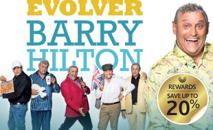 Barry Hilton Evolves
