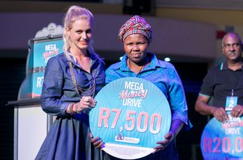 Mega Money Drive Winner - Thulisiwe Dindi