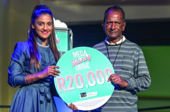 Mega Money Drive Winner - Gurunathan Pillay