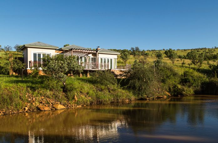 Lake view of Mount Grace Country House and Spa in Magaliesburg