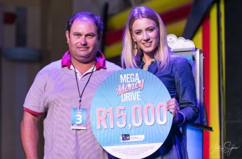 Mega Money Drive Winner - Barry Mcghee