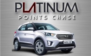 Win the car in the Platinum Points Chase Promotion