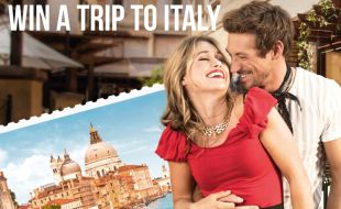 Win a Trip to Italy Postcard