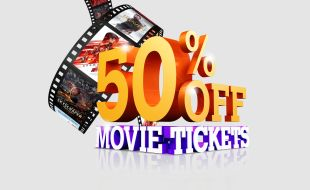 50% off movie tickets at Gold Reef City Casino