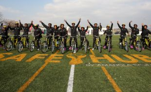 Bicycles add value to Diepsloot Safe-Hub