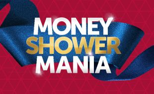 Money Shower Mania promotion at Goldfields Casino