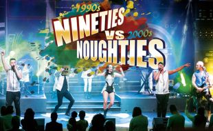 Nineties vs Noughties event at Silverstar Casino