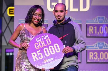 Congratulations to our Go For Gold Winner - Keith Moona