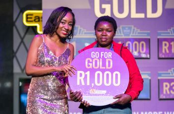 Congratulations to our Go For Gold Winner - Xoliswa Nobetsu