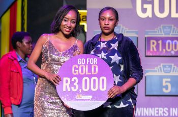Congratulations to our Go For Gold Winner - Lorraine Masakadza