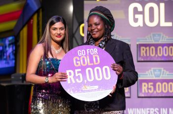 Congratulations to our Go For Gold Winner - Patrina Chamantha